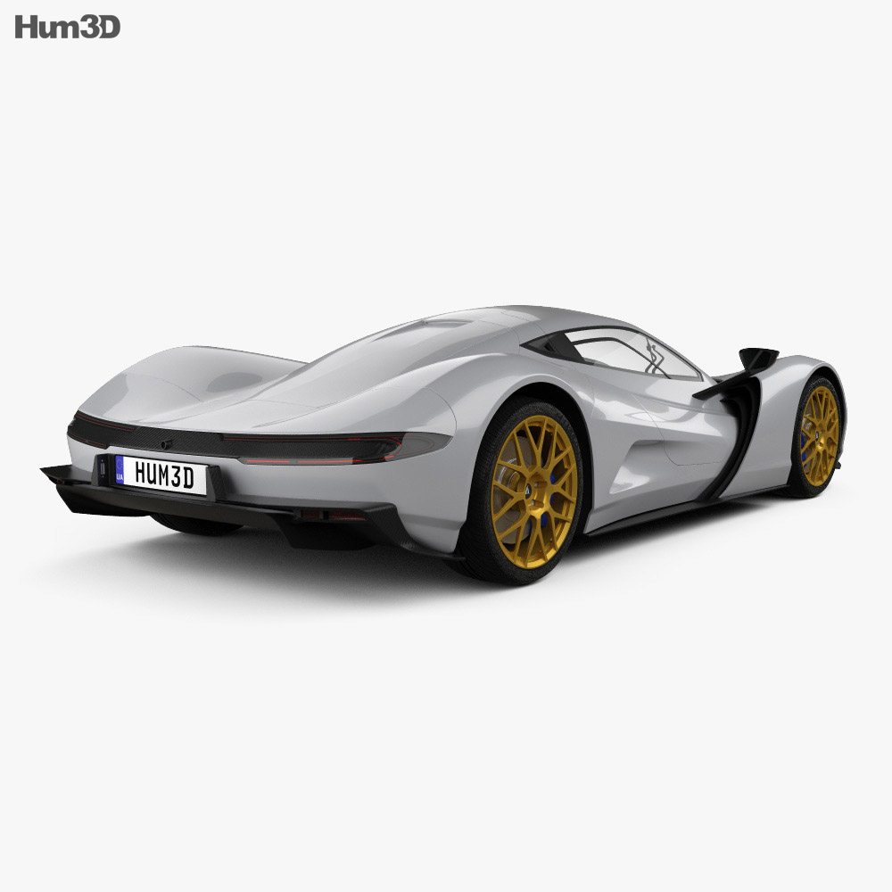 Aspark Owl 2020 3d model