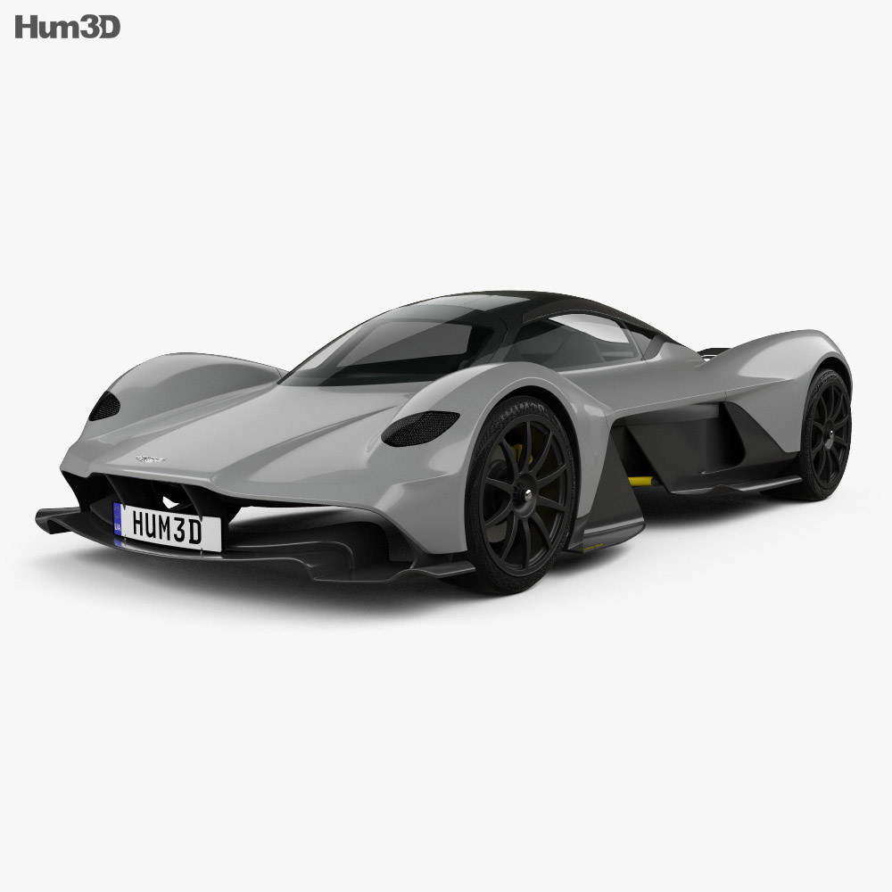 Aston Martin AM-RB 2018 3d model