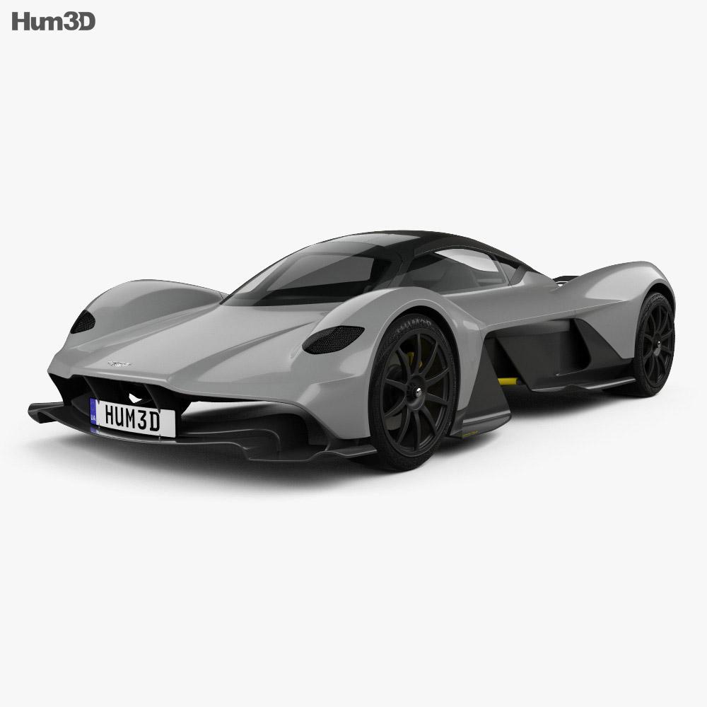 Aston Martin AM-RB 2018 3d model