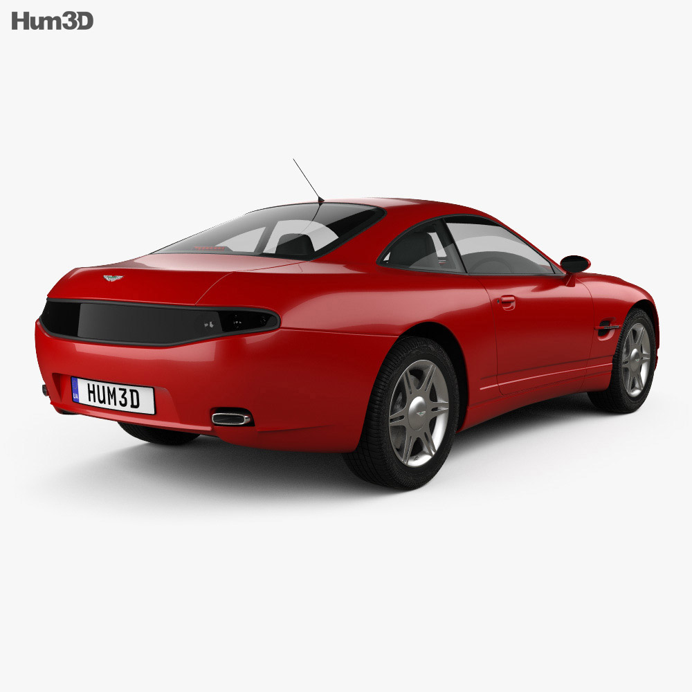 Aston Martin AM4 1997 3d model