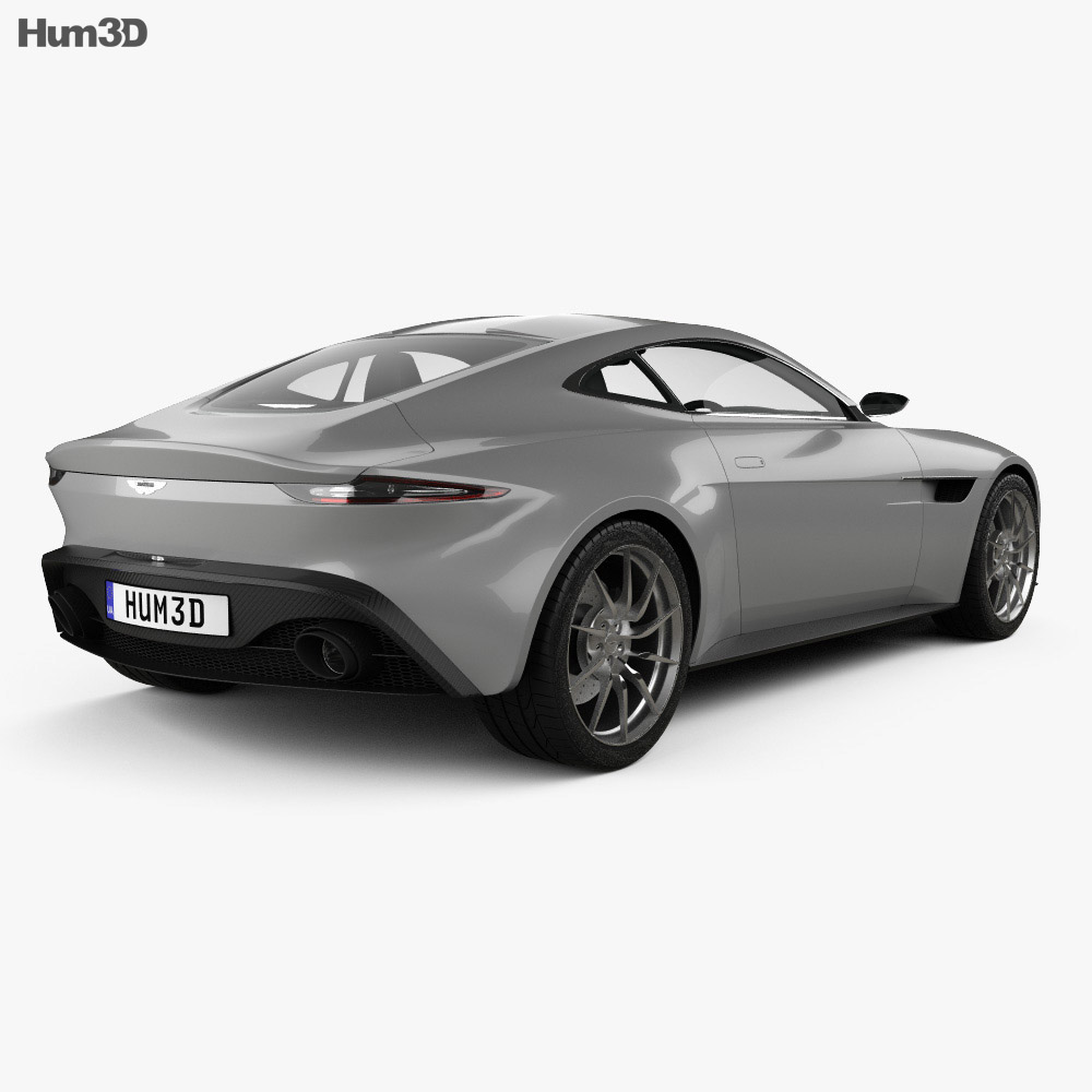 Aston Martin DB10 with HQ interior 2015 3d model