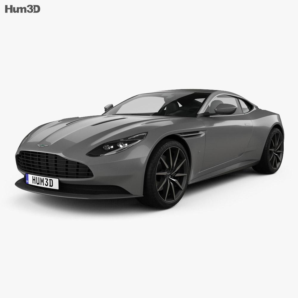 Aston Martin DB11 2017 3d model