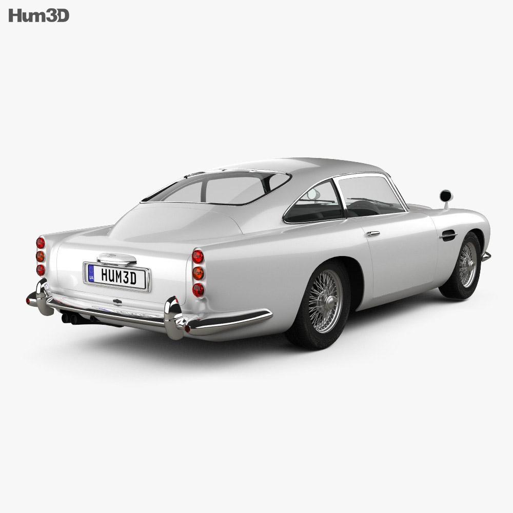 Aston Martin DB5 1963 3d model