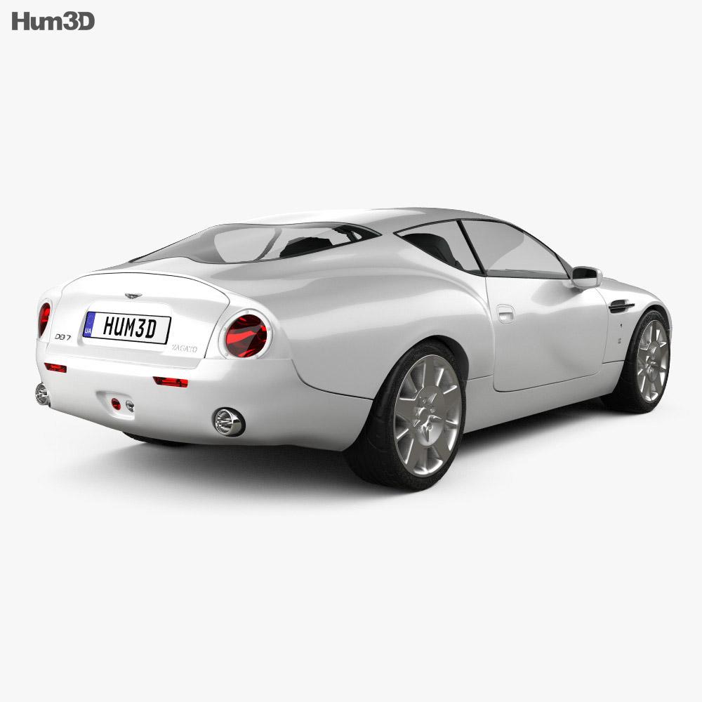 Aston Martin DB7 GT Zagato 2002 3D Model