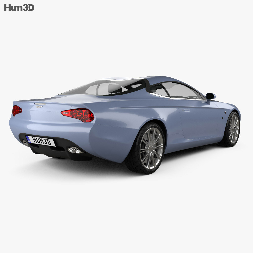 Aston Martin DB9 Coupe Zagato Centennial 2014 3d model