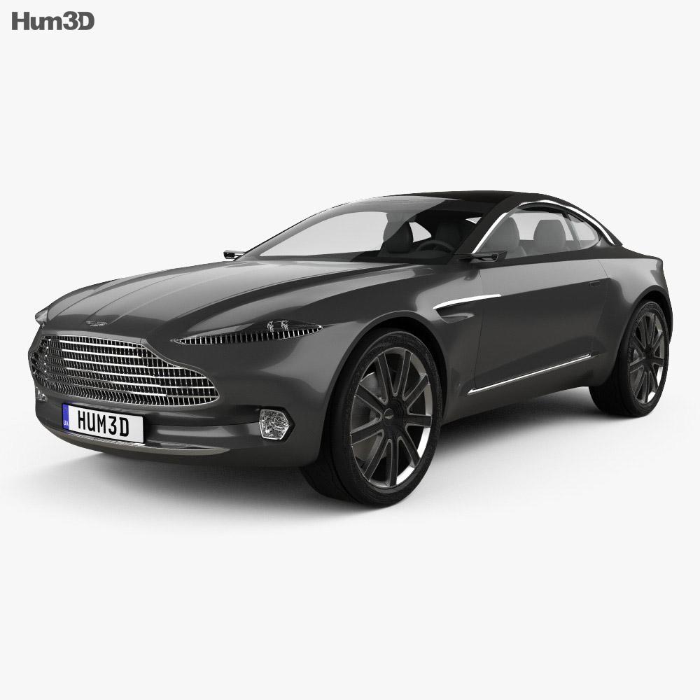 Aston Martin DBX 2015 3d model