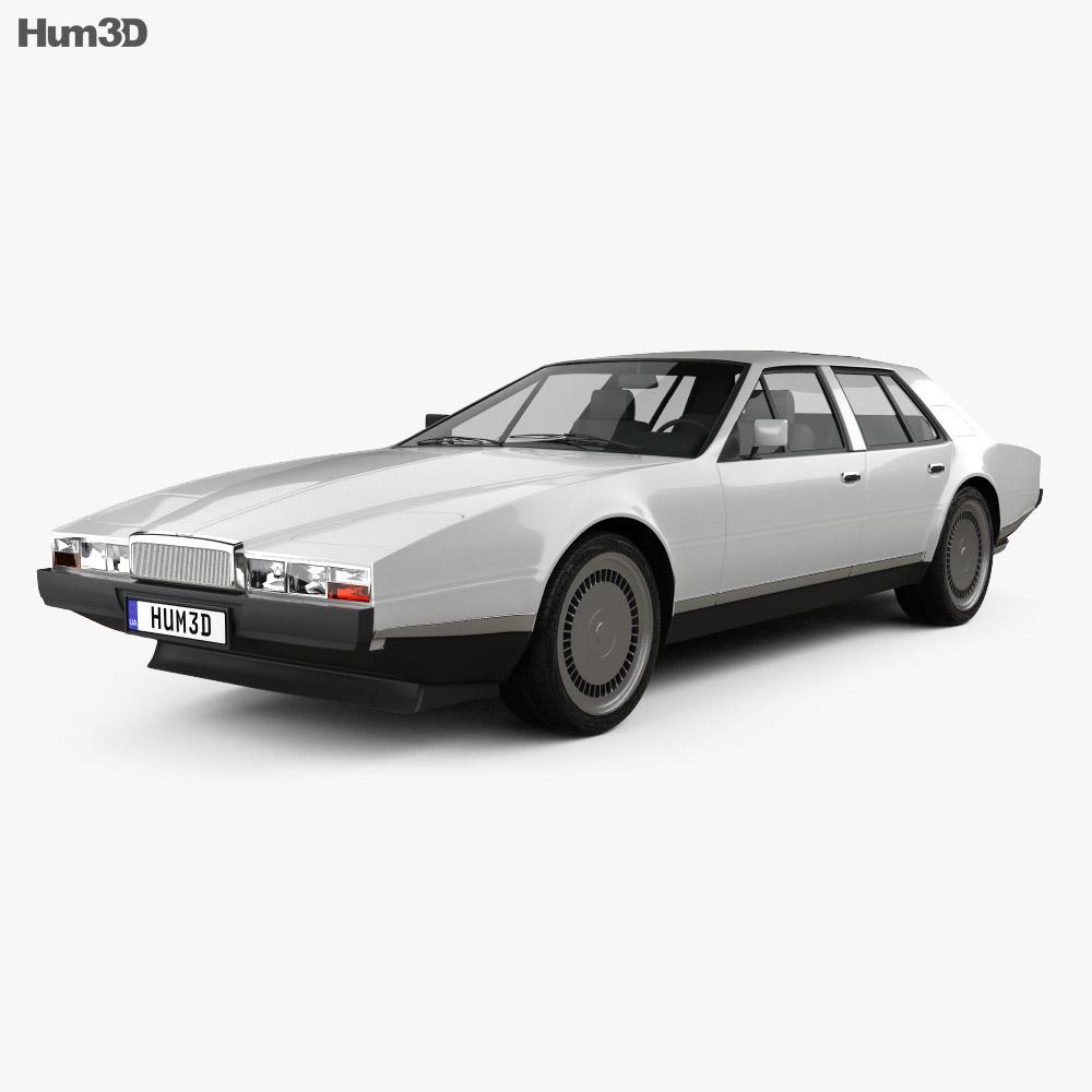 Aston Martin Lagonda 1985 3d model