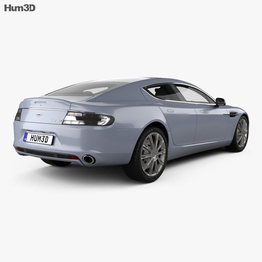 Aston Martin Rapide 2010 3d model