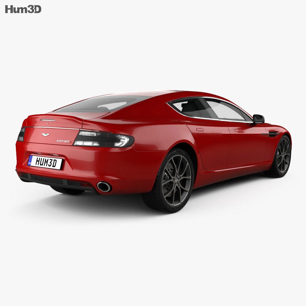 Aston Martin Rapide S 2013 3d model
