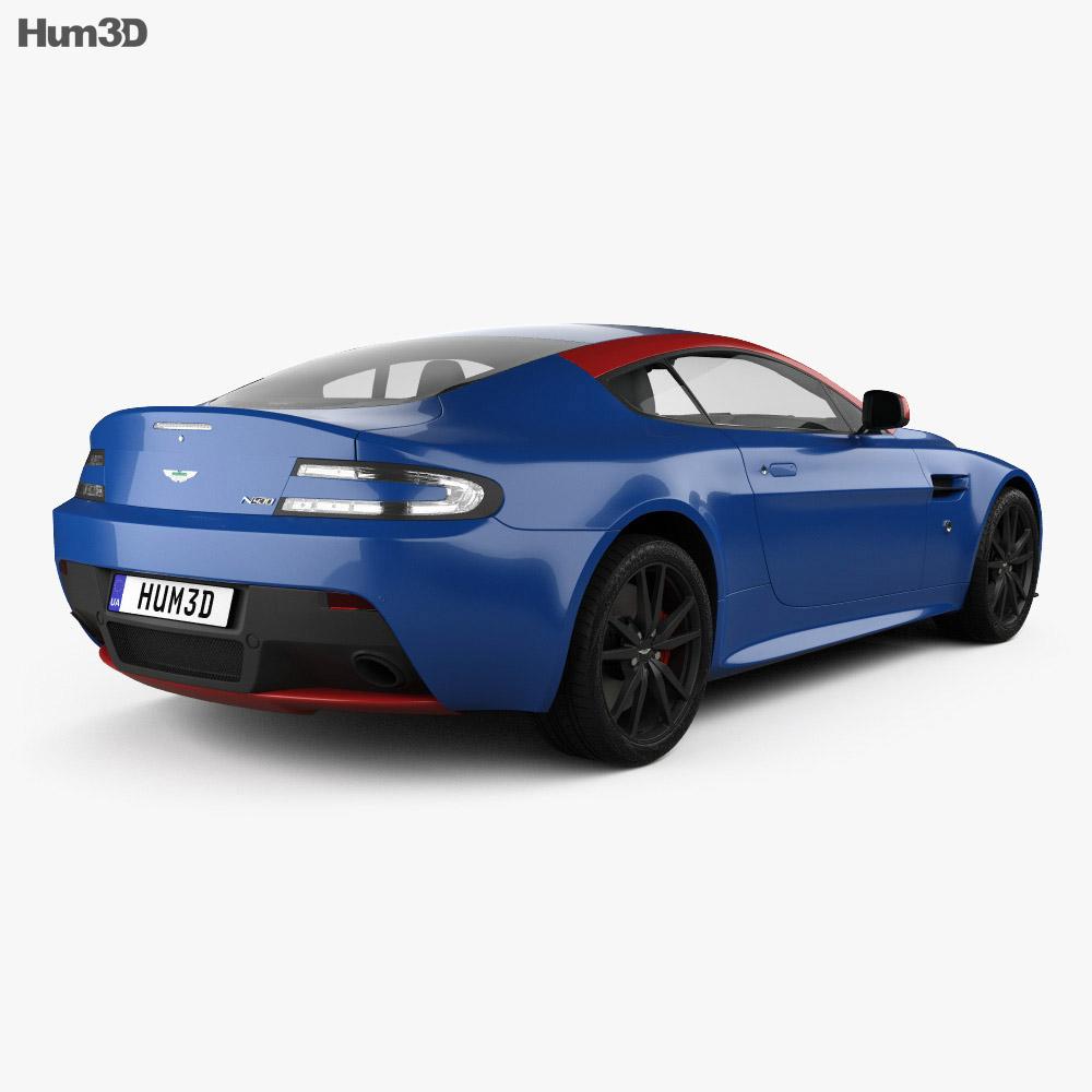 Aston Martin Vantage N430 2015 3d model