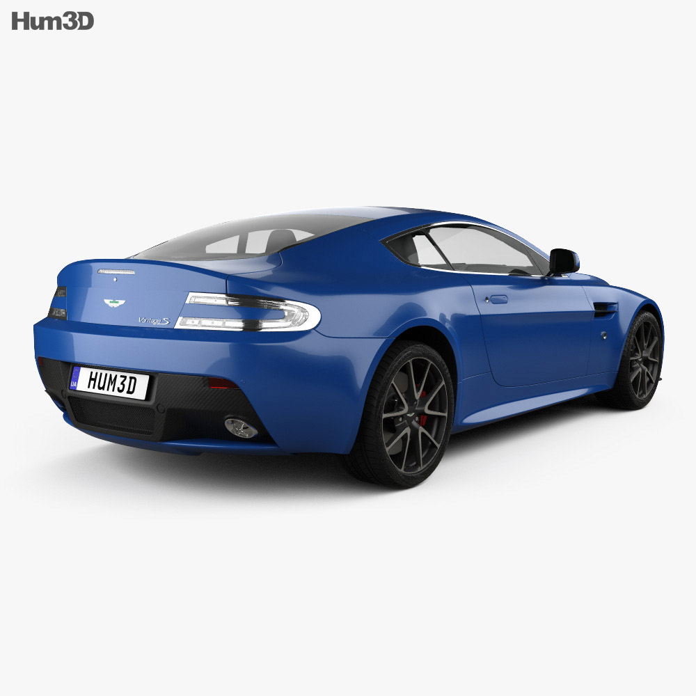 Aston Martin V8 Vantage S 2015 3d model