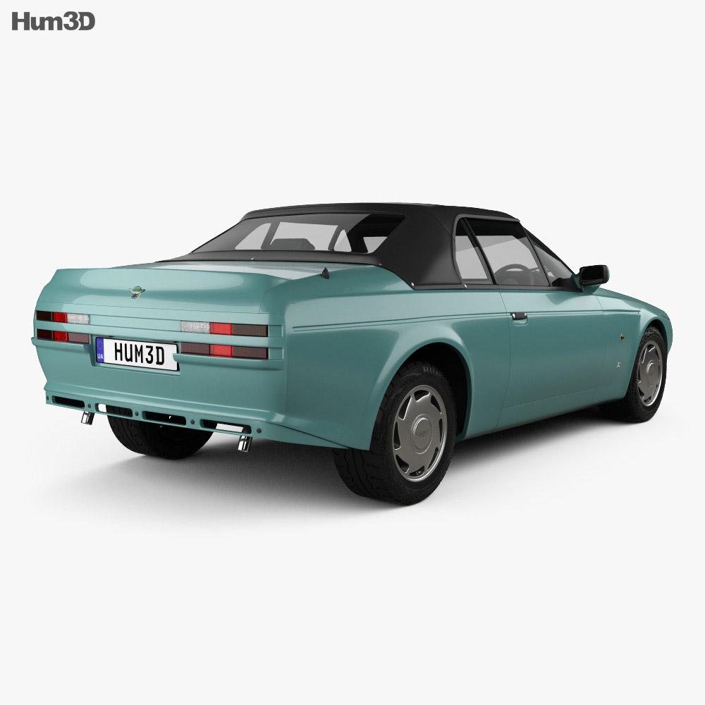 Aston Martin V8 Zagato Volante 1987 3d model