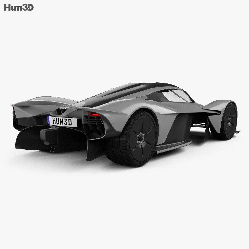 Aston Martin Valkyrie Sport: Aston Martin Valkyrie 2018 3D Model