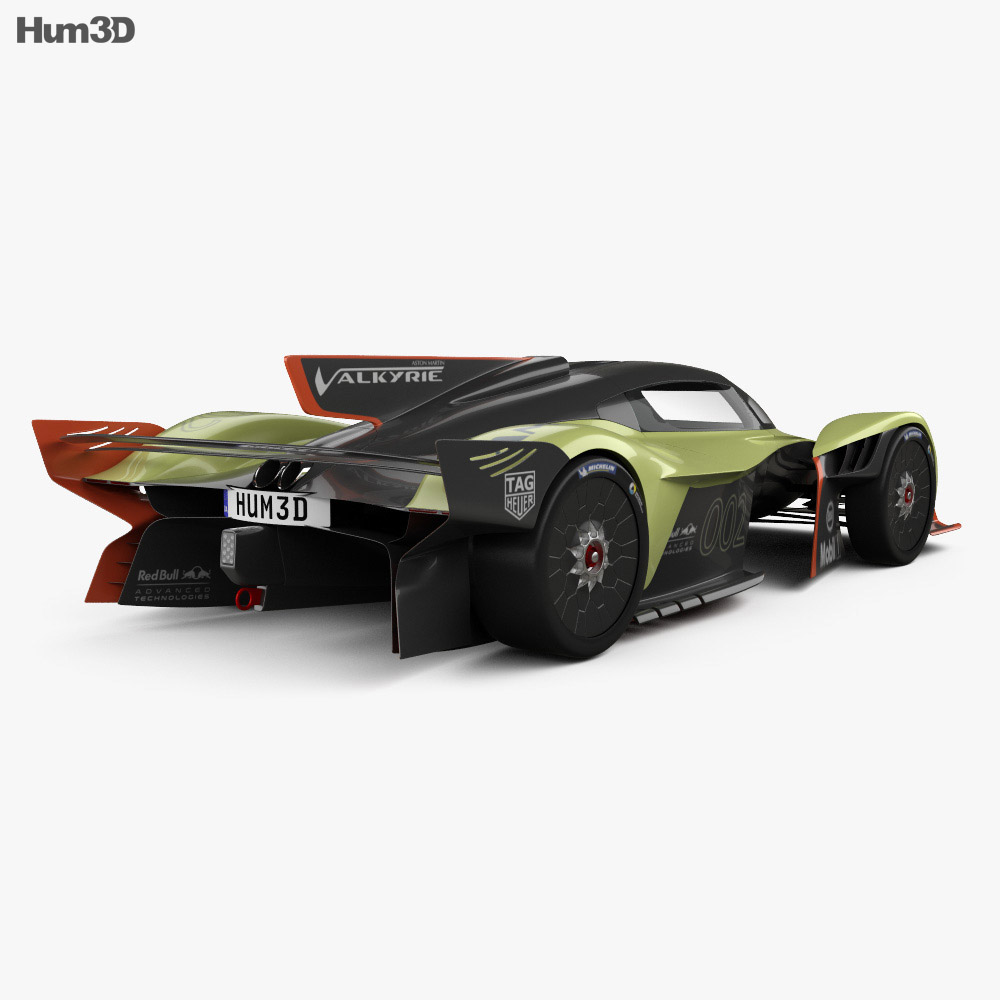 Aston Martin Valkyrie Sport: Aston Martin Valkyrie AMR Pro 2020 3D Model