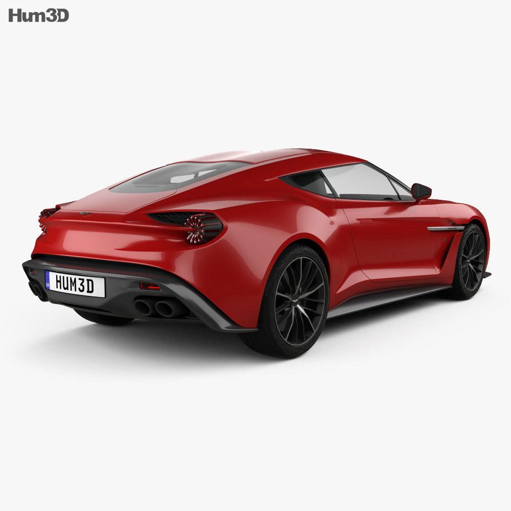 Aston Martin Vanquish Zagato 2016 3d model