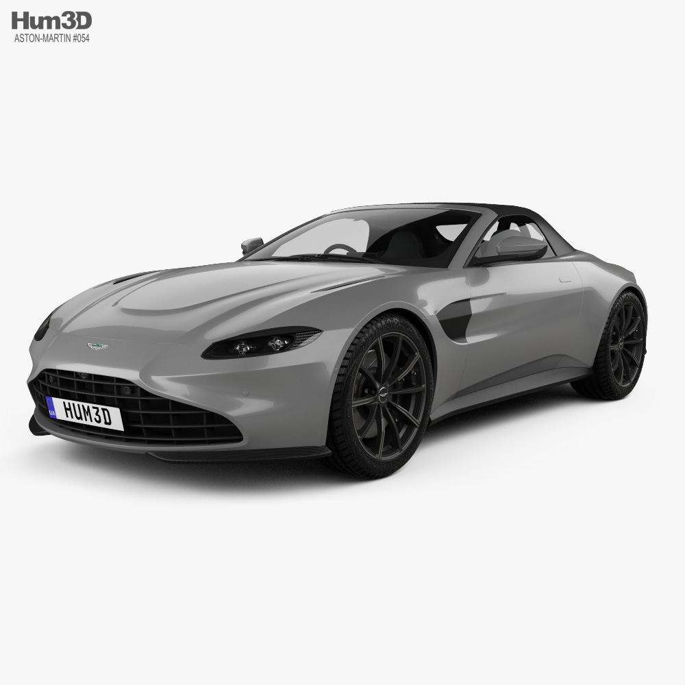 Aston Martin Vantage Roadster 2020 3d Model Vehicles On Hum3d