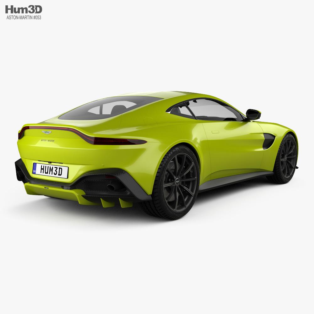 Aston Martin Vantage Coupe 2018 3d Model Vehicles On Hum3d