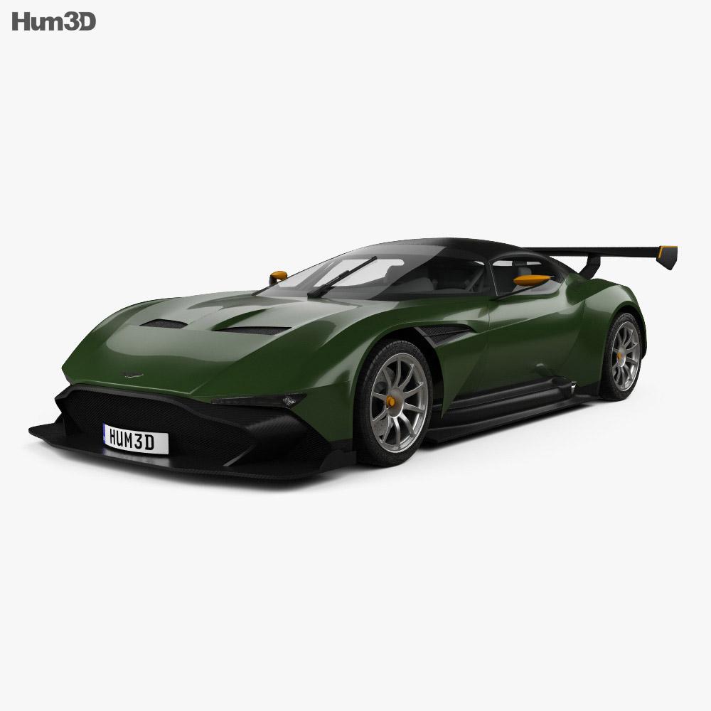 Aston Martin Vulcan 2015 3d Model Humster3d