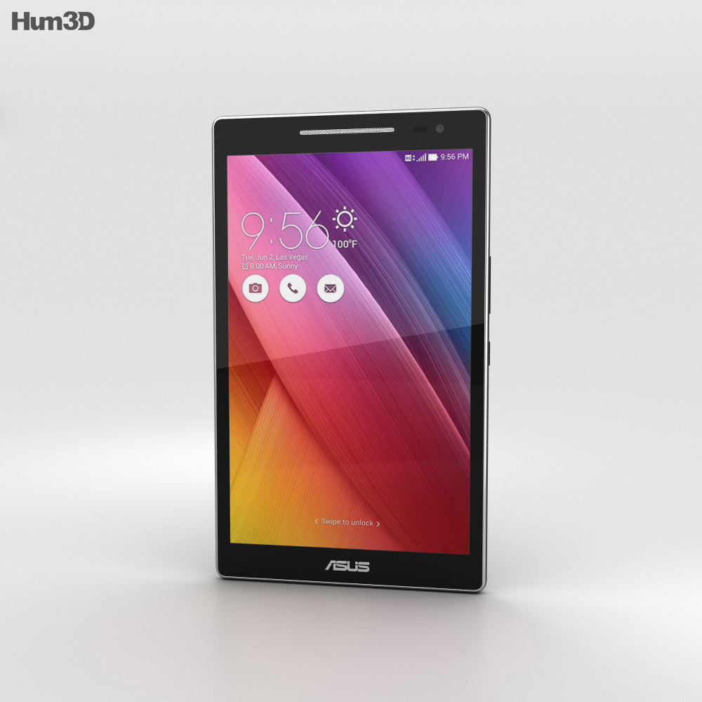 Asus ZenPad 8.0 (Z380C) Black 3d model