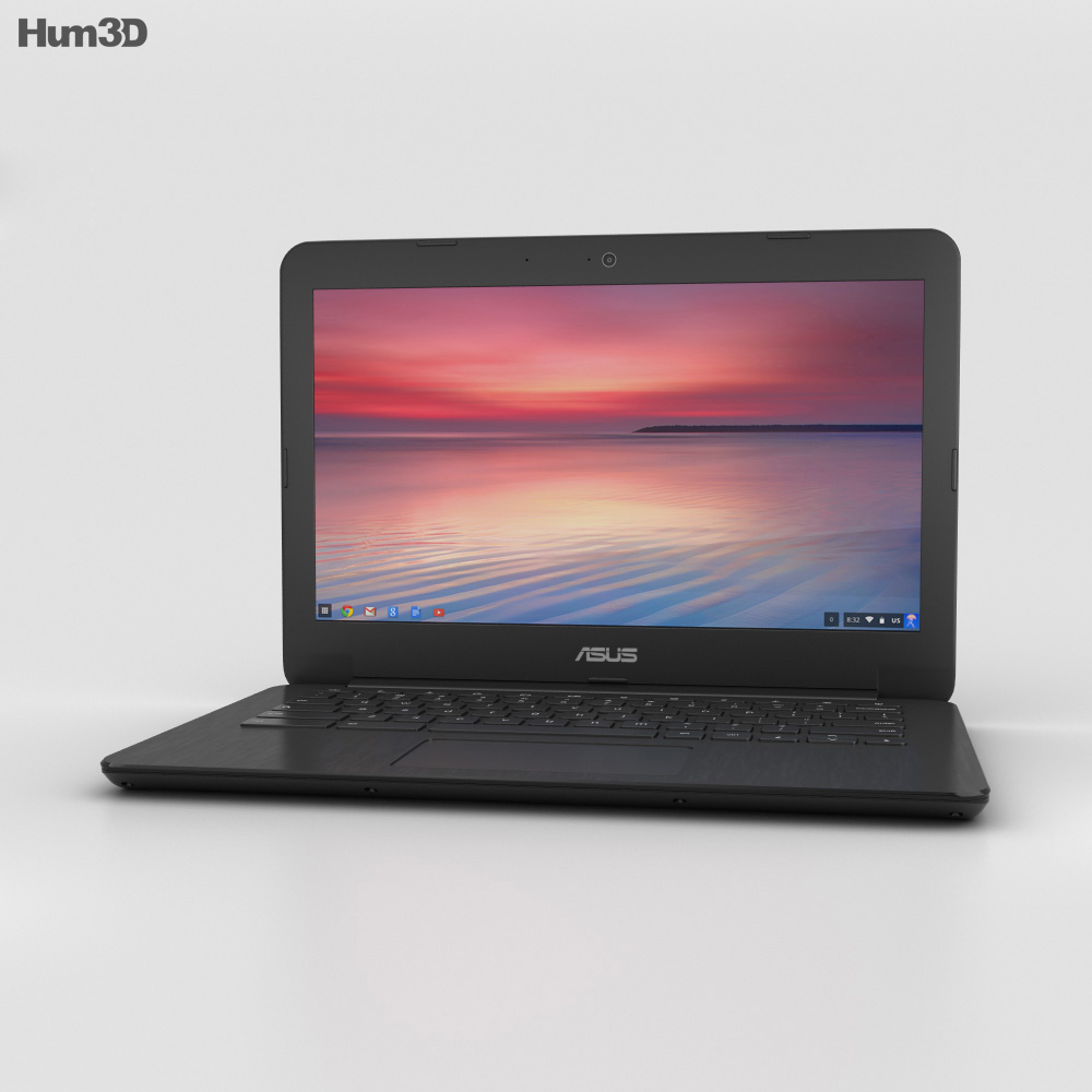 Asus Chromebook C300 3d model