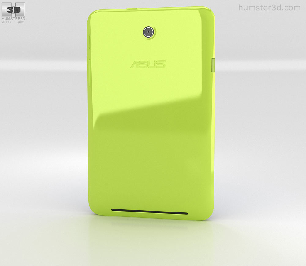 Asus MeMO Pad HD 7 Green 3d model