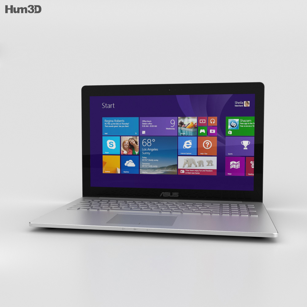 Asus ZenBook Pro UX501 3d model