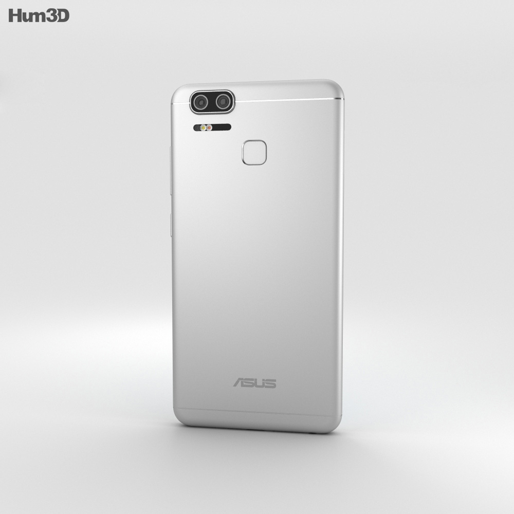 Asus Zenfone 3 Zoom Glacier Silver 3d model