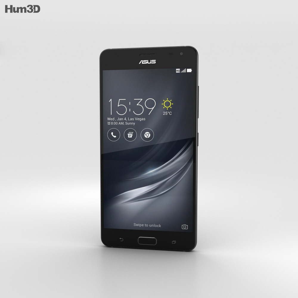 Asus ZenFone AR Black 3d model