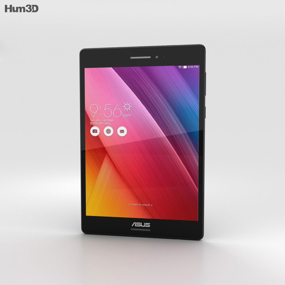 Asus ZenPad S 8.0 Black 3d model