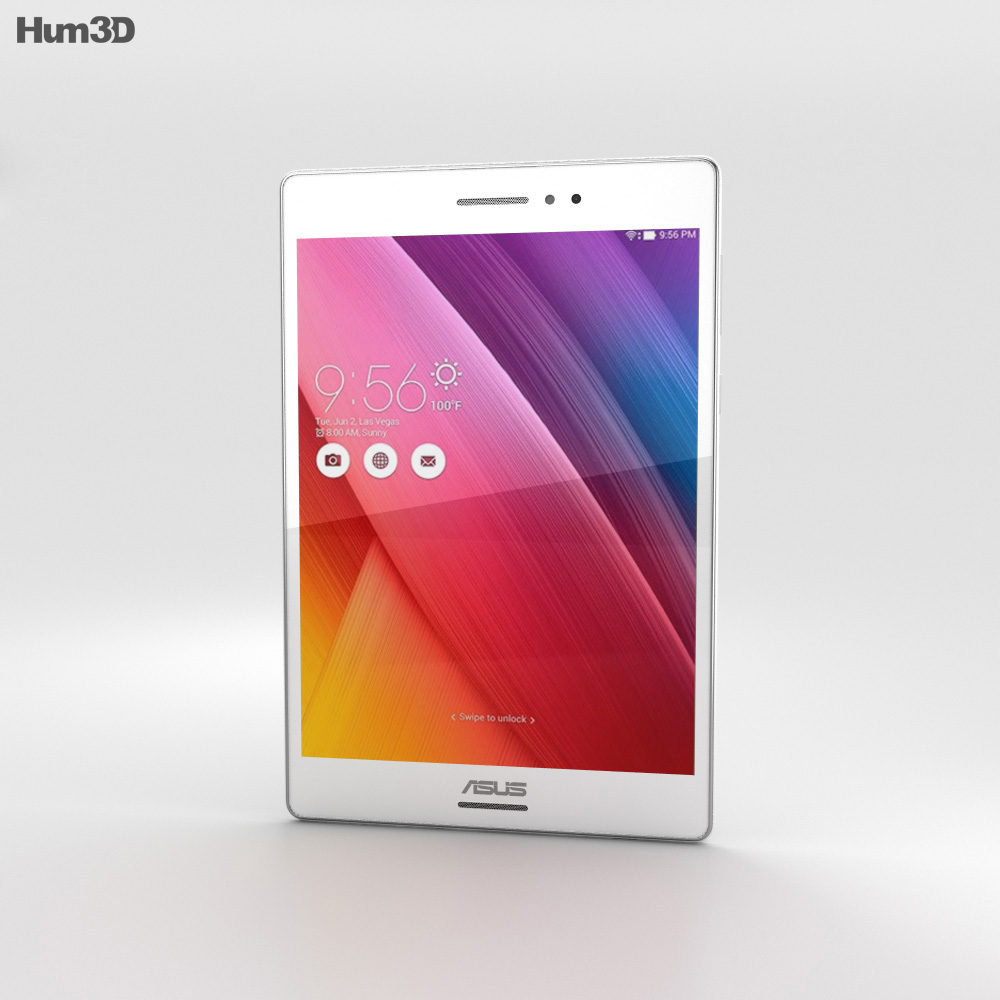 Asus ZenPad S 8.0 White 3d model