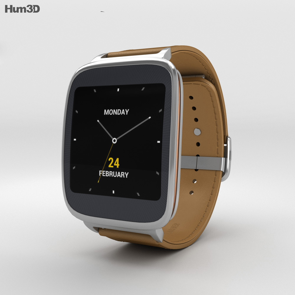 Asus ZenWatch Brown 3d model