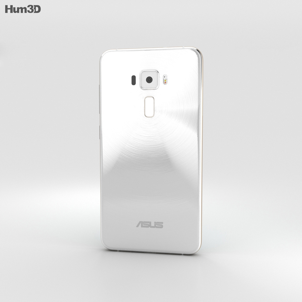 Asus Zenfone 3 Moonlight White 3d model