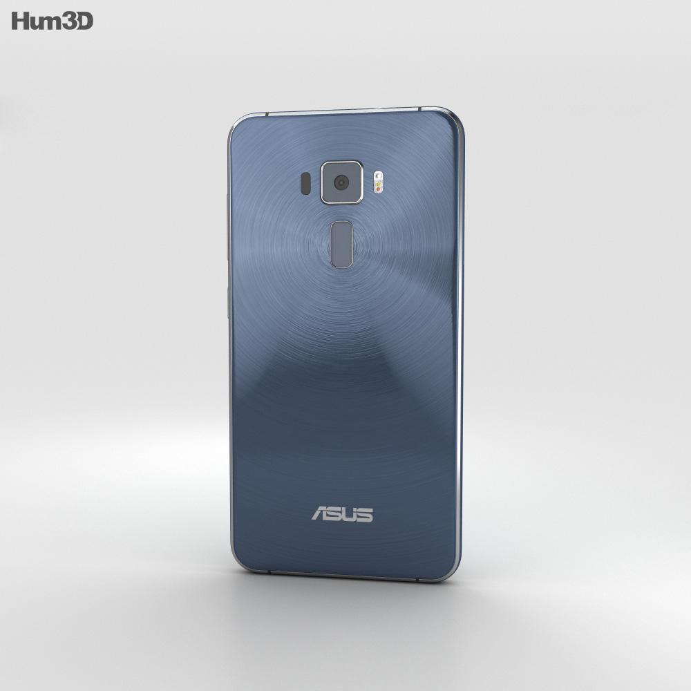 Asus Zenfone 3 Sapphire Black 3d model