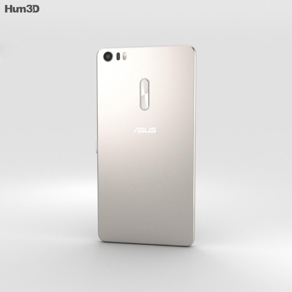 Asus Zenfone 3 Ultra Glacier Silver 3d model
