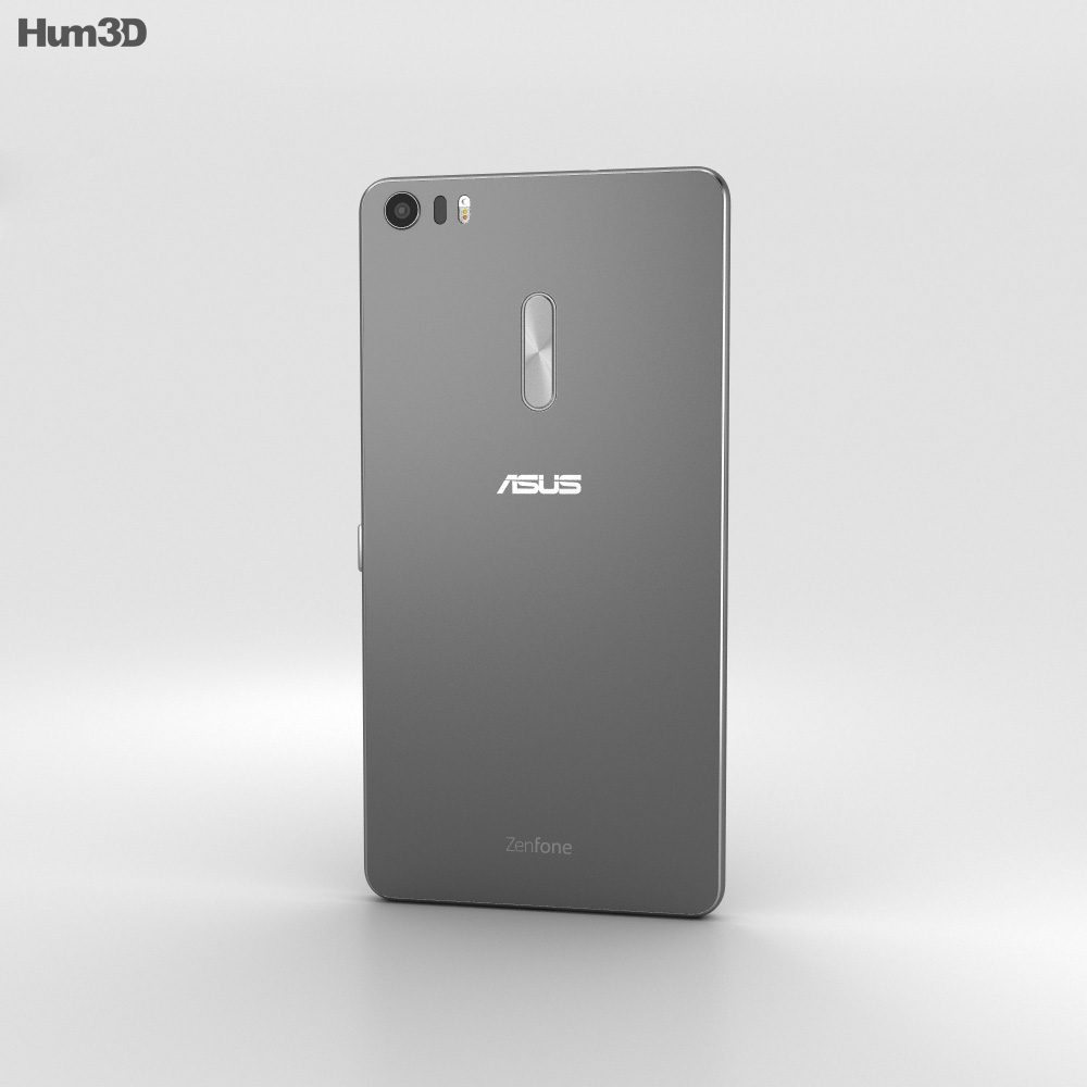 Asus Zenfone 3 Ultra Titanium Gray 3d model
