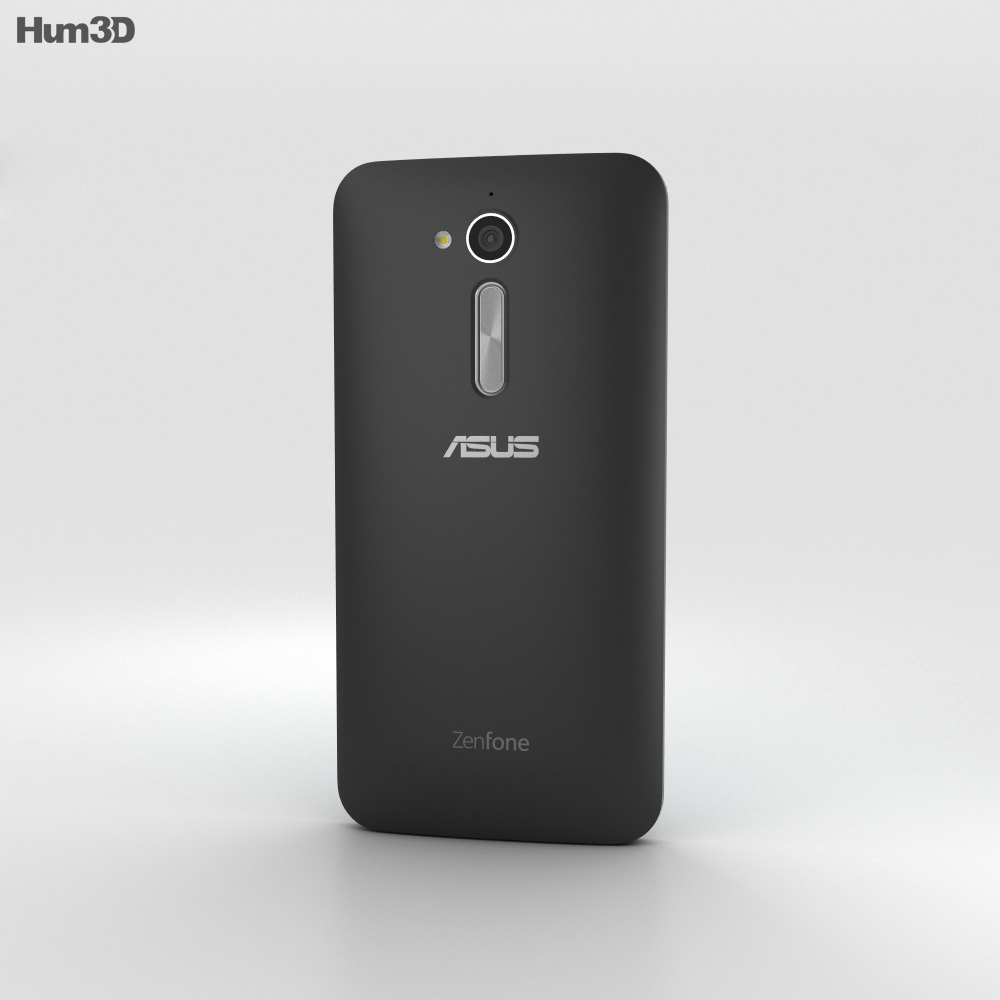 Asus Zenfone Go (ZB500KL) Charcoal Black 3d model