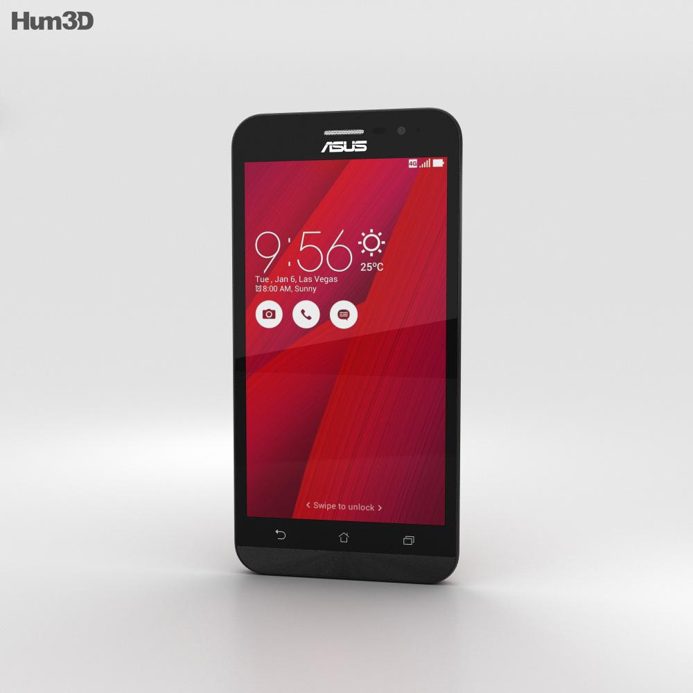 Asus Zenfone Go (ZB500KL) Glamour Red 3d model