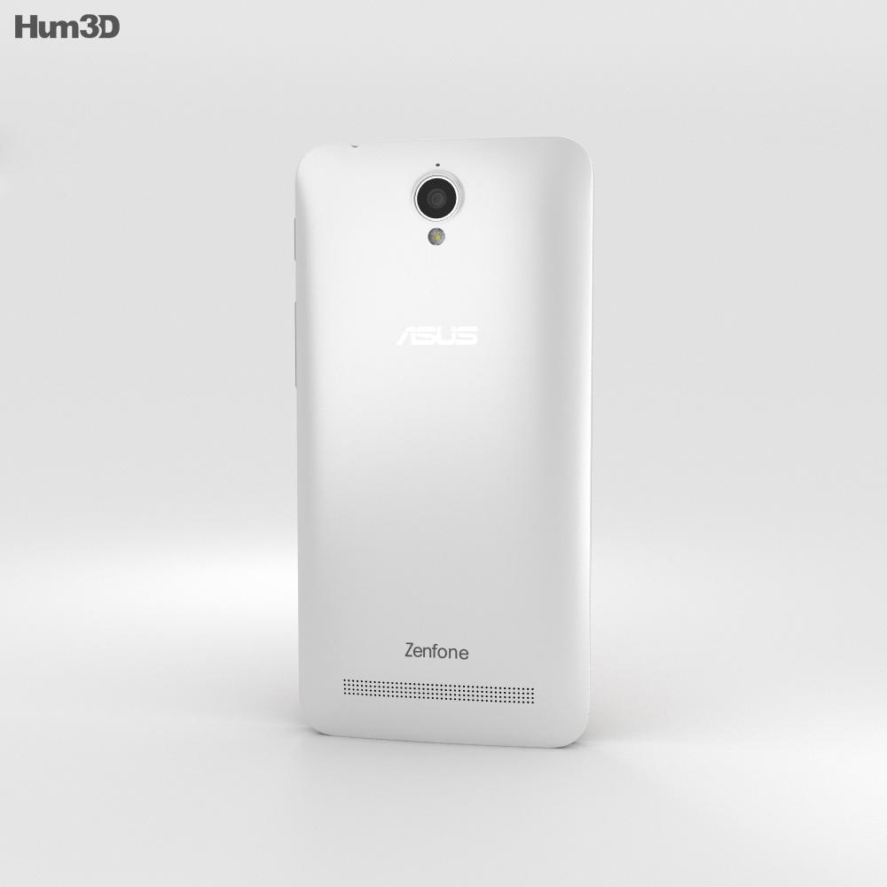 Asus Zenfone Go (ZC451TG) Pearl White 3d model