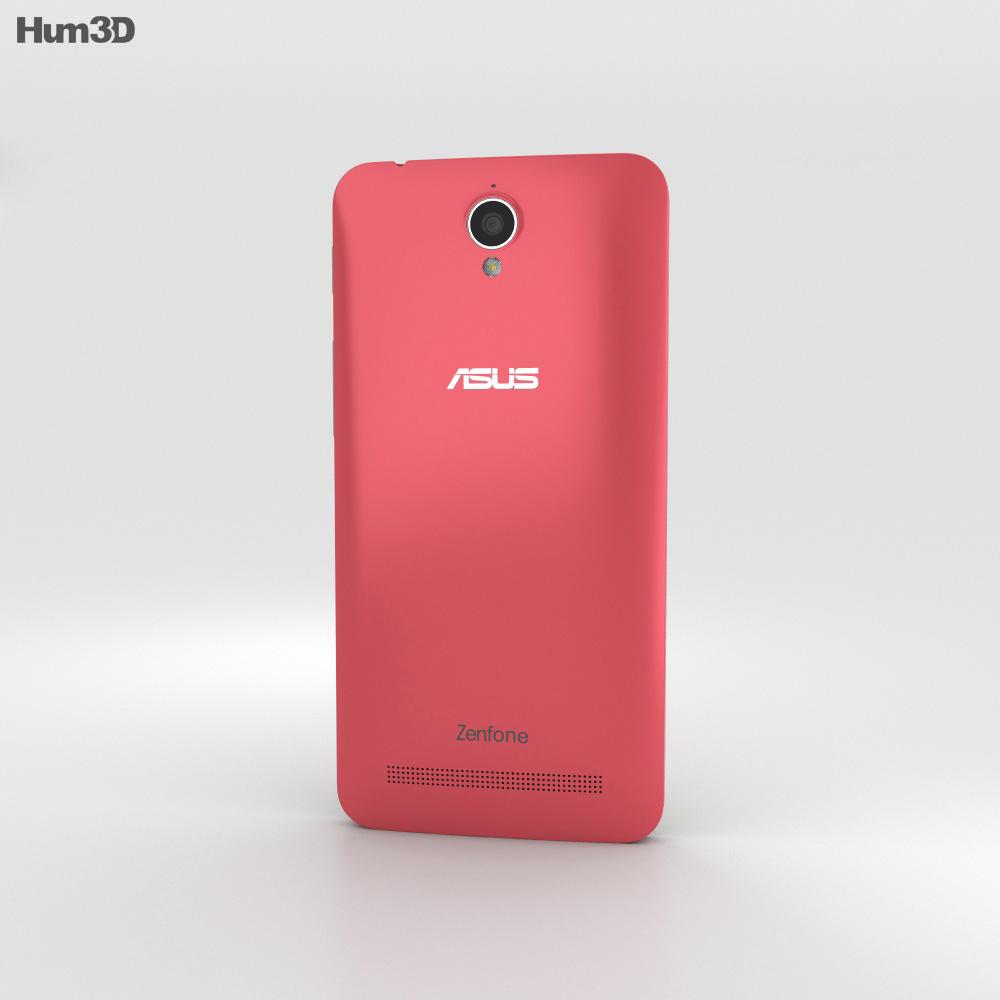 Asus Zenfone Go (ZC451TG) Rouge Pink 3d model