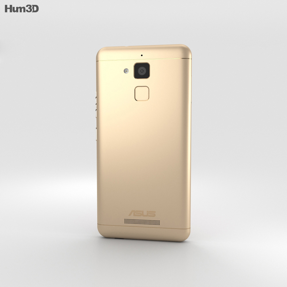Asus Zenfone Pegasus 3 Gold 3d model