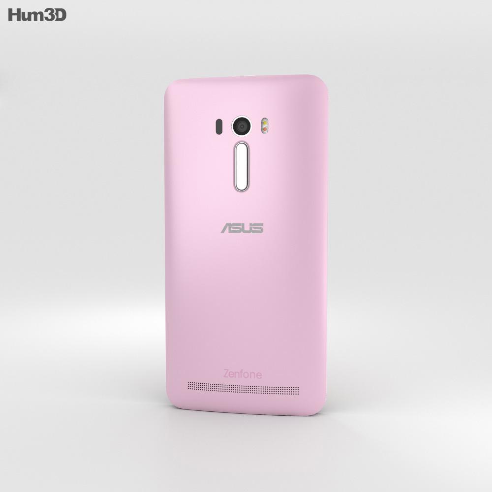 Asus Zenfone Selfie (ZD551KL) Chic Pink 3d model