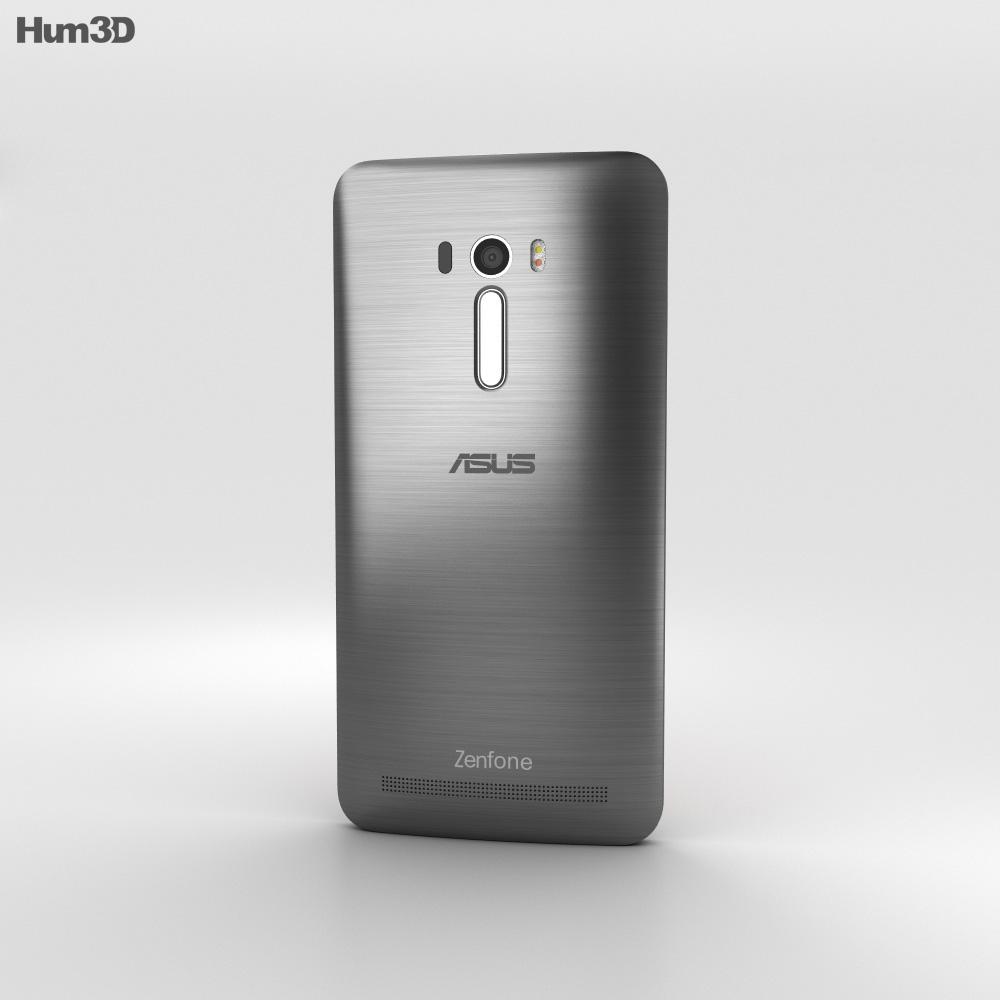 Asus Zenfone Selfie (ZD551KL) Glacier Gray 3d model