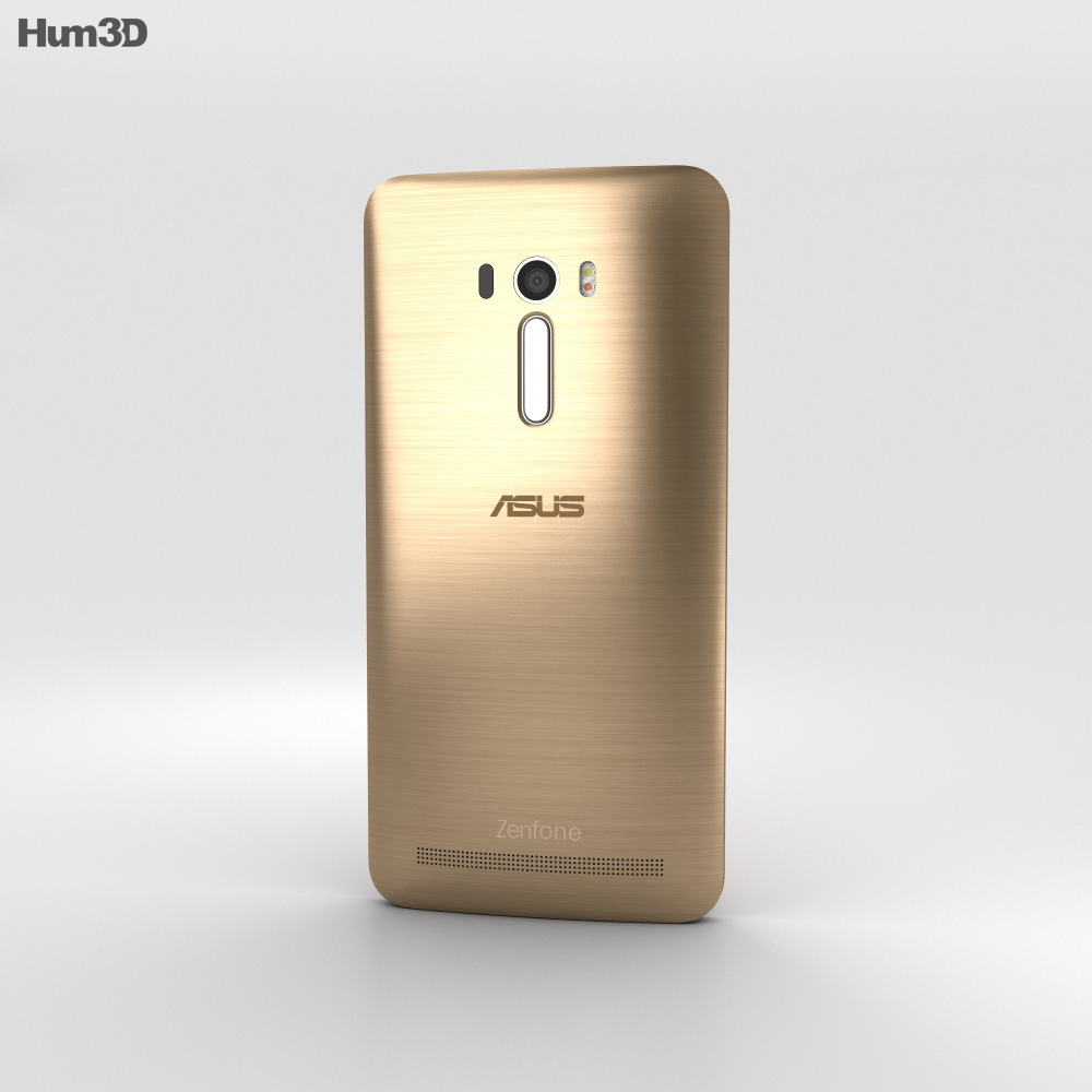 Asus Zenfone Selfie (ZD551KL) Sheer Gold 3d model