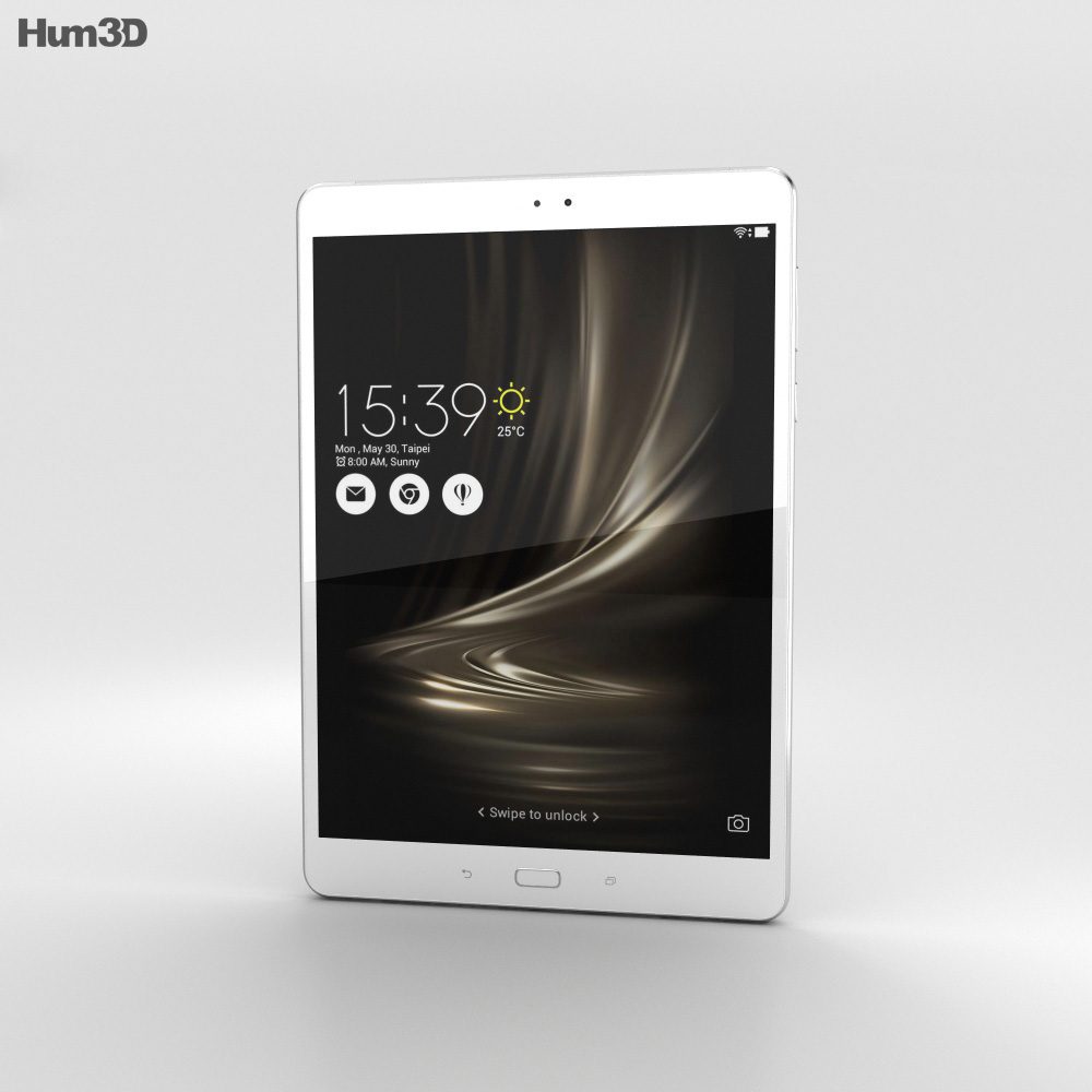 Asus Zenpad 3S 10 Silver 3d model