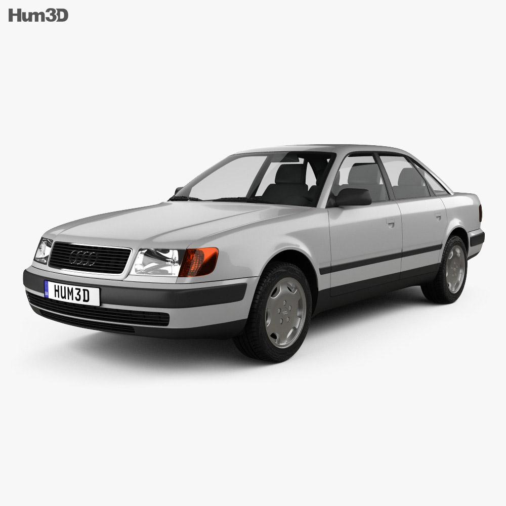 Audi 100 (C4) sedan 1991 3d model