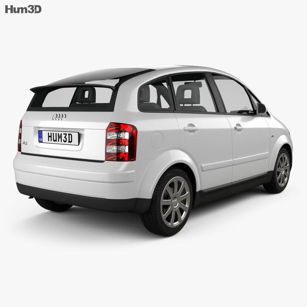 Audi A2 2005 3d model