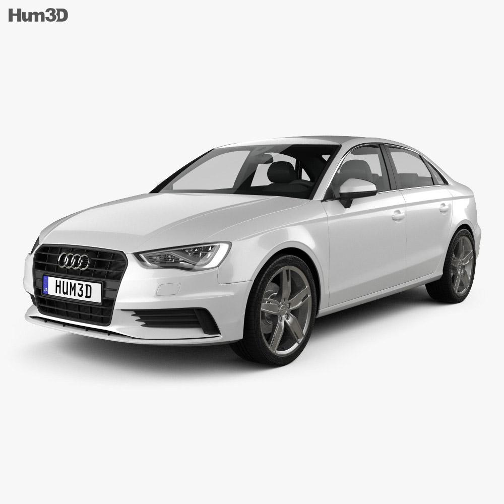 Audi A3 sedan 2013 3d model