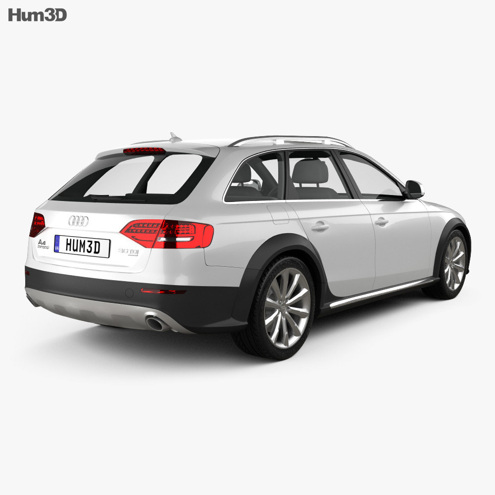 Audi A4 Allroad Quattro 2010 3d model