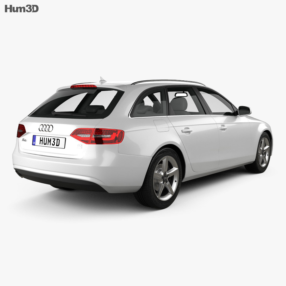 Audi A4 Avant 2013 3d model