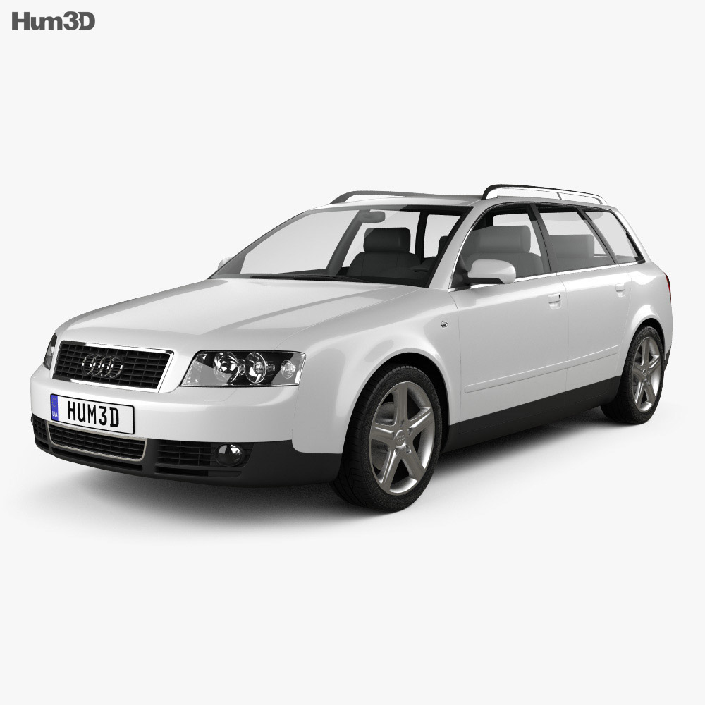 audi a4 b6 avant 2002 3d model hum3d. Black Bedroom Furniture Sets. Home Design Ideas